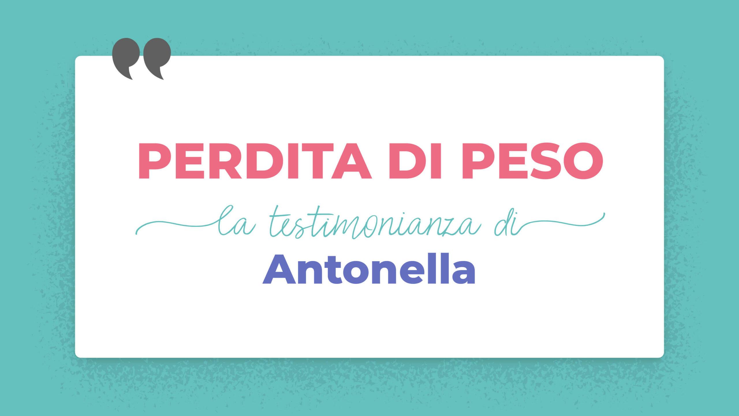 PerditaPeso-Antonella nutrizionista specializzato in morbo di crohn
